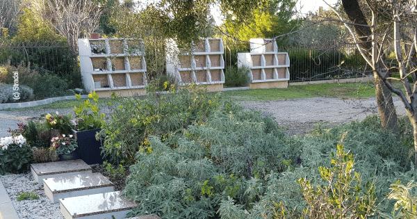 columbarium Tempo avec assemblage modulaire des cases. Stradal Funéraire