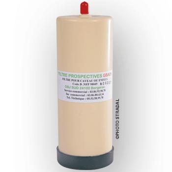 filtre épurateur GBA pour caveau funéraire NF - STRADAL