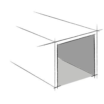 ouverture frontale pour les caveaux en éléments - Stradal
