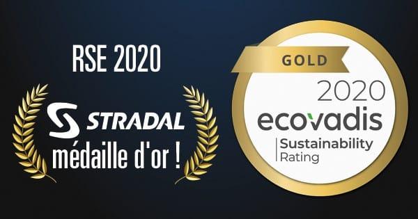 RSE Stradal médaille d'or 2021