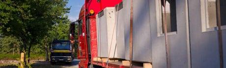 transport de caveaux funéraires Stradal, livraison directe au chantier