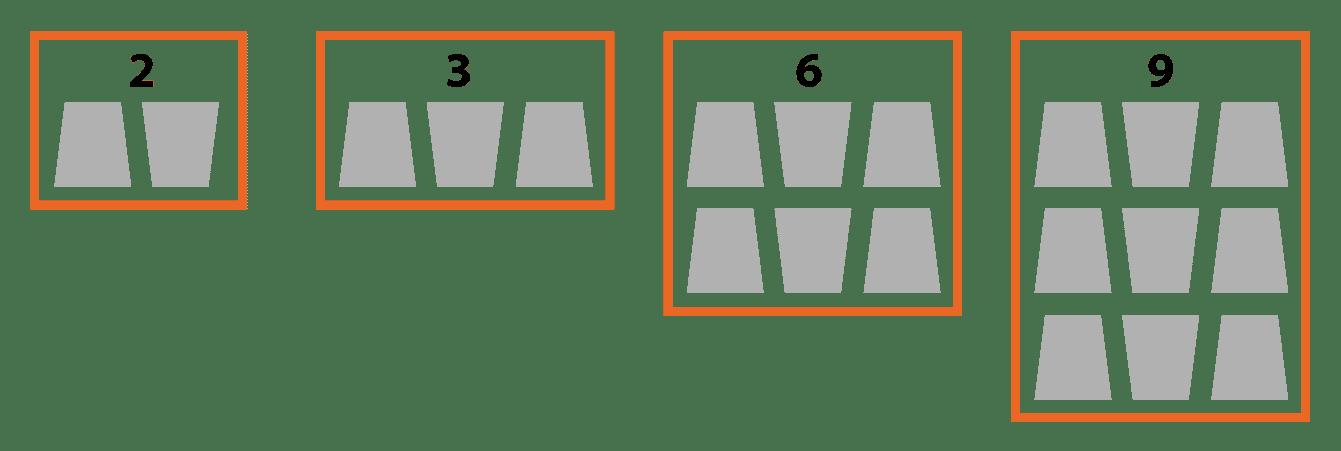 schéma position des cercueils dans caveau funéraire triple. Stradal