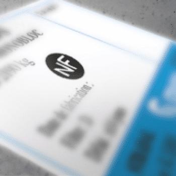 étiquette pour prouver la certification NF du caveau funéraire. Engagement du fabricant Stradal