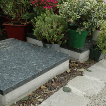 casurne Stradal équipée d'une dalle granit